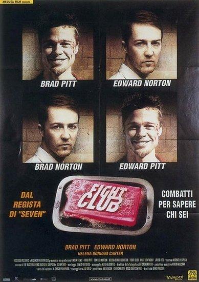 《搏击俱乐部》海报