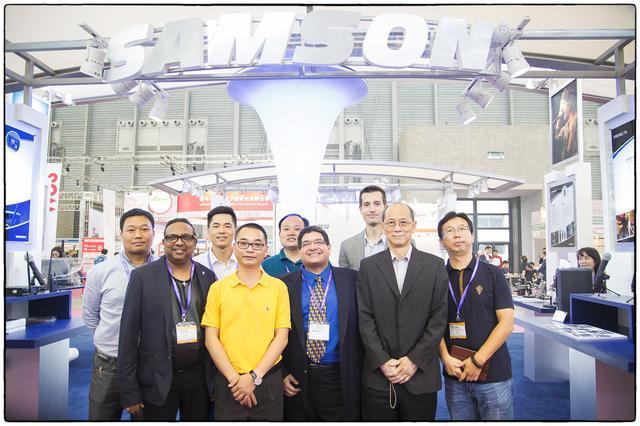 龙健集团正式签约—美国SAMSON品牌中国总代理
