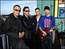 福布斯官方音乐富人榜出炉 爱尔兰乐队U2居榜首