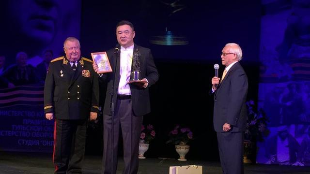 奥泽洛夫军事电影节《勇士》《血战湘江》获奖