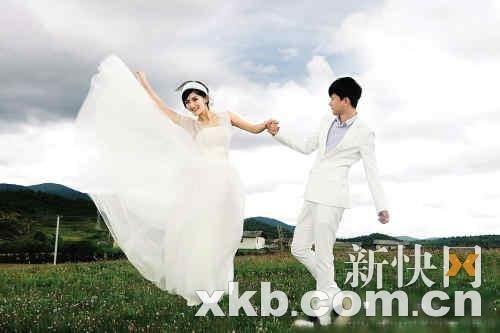 谢娜婚讯全部微博发布 婚礼将播放张杰歌曲