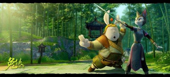 资料:国产动画片《兔侠传奇》——小摊的老板