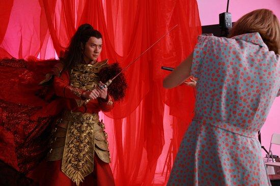 《兰陵王》a主要杀青冯绍峰主要返组补拍海报现代室内设计的专程内容图片