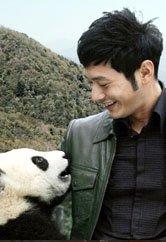 黄晓明捐款100万认养大熊猫