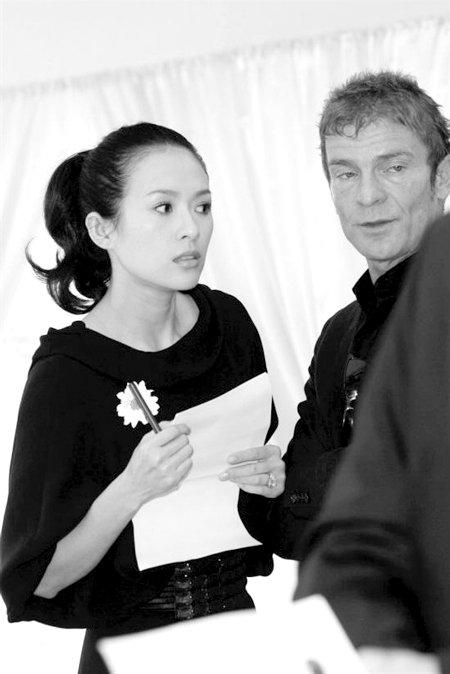 """章子怡怕丢""""铁饭碗"""" 和国家话剧院签聘用合同"""