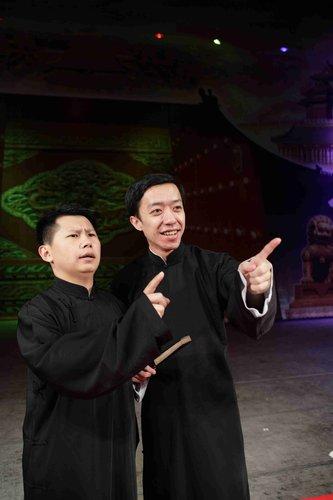 何云伟李菁自立门户开张:我们不跟德云社比较