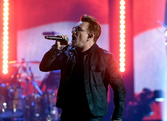U2音乐节大谈总统竞选 称特朗普将毁掉美国梦