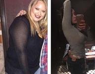 胖姑娘减肥81斤成网红