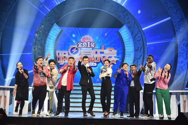 腾讯娱乐讯 近日,星光大道人气歌手刘向圆受邀参加河北卫视《明星同乐