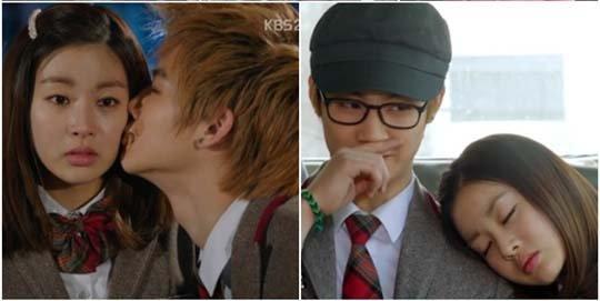 《Dream High 2》热播 JB情难自禁亲吻姜素拉