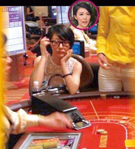传港姐马赛月收汪子琦20万 赌场豪赌照曝光