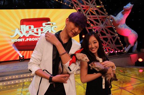 蒋梦婕于小彤拒穿皮草 录节目呼吁关爱动物