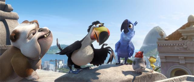 《里约大冒险2》海外票房中国居首 五一持续热映