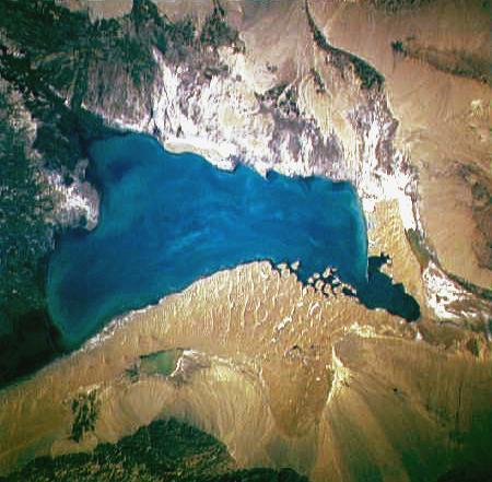 《鬼吹灯》中他们从博斯腾湖再往北就到通天河了