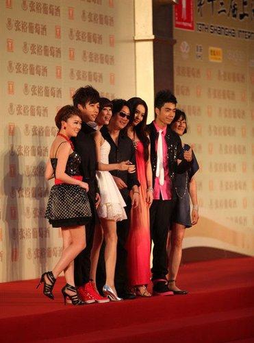 中国版《歌舞青春》红毯亮相 主题曲电影节首演