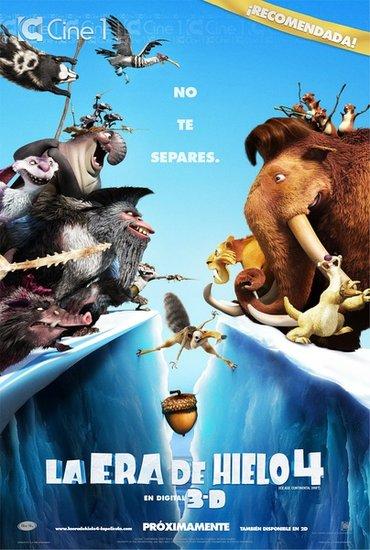 《冰川时代4》:好莱坞动画电影为何老少通吃