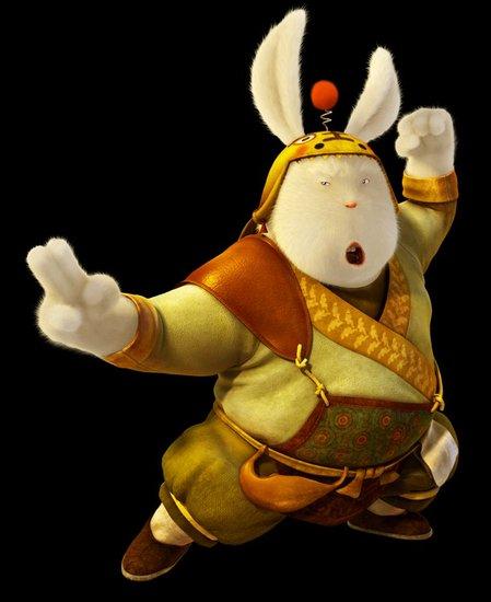 资料:国产3D动画大片《兔侠传奇》——兔二