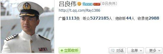 """吕良伟腾讯微博在线交流 """"晁天王""""力挺新水浒"""