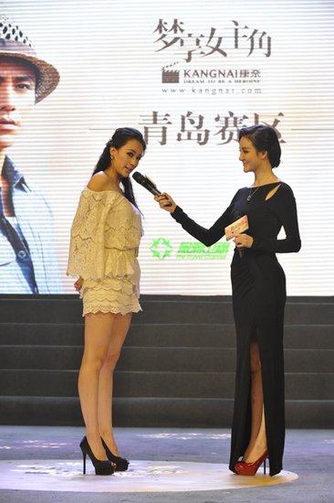 """刘雨欣传授美丽心经 与""""瑜伽教主""""母其弥雅PK"""