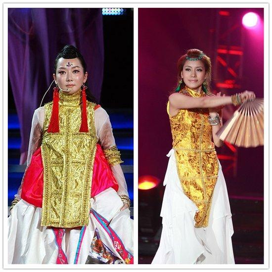 达娃卓玛造型酷似萨顶顶-藏歌会 今晚半决赛 传萨顶顶禁选手唱代表作