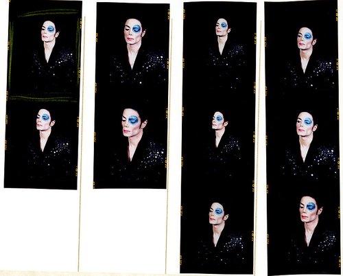"""杰克逊未曝光照片""""蓝色眼睛"""" 十月进行拍卖"""
