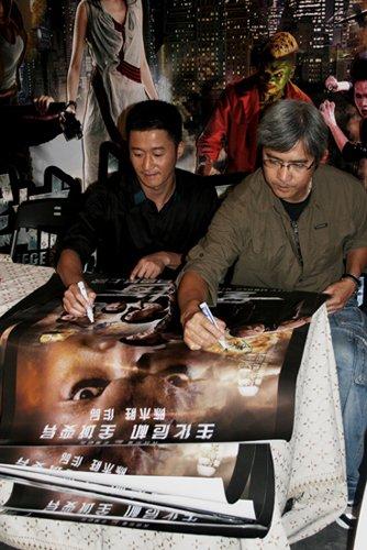陈木胜出席《全城戒备》庆功会 称想闯荡好莱坞