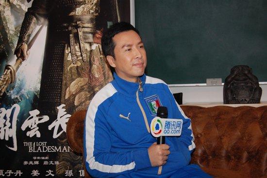 香港电影节独家专访甄子丹:我从来就不是戏霸