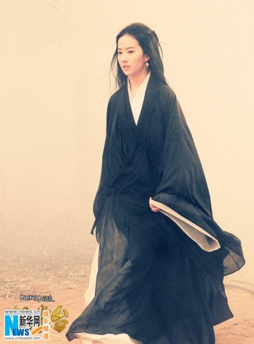 刘亦菲绝美貂蝉照曝光 《铜雀台》一人分饰母