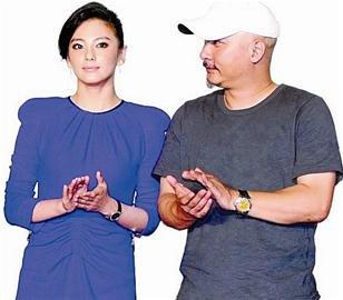 图文:张雨绮与王全安订婚