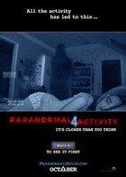《鬼影实录4》国际海报