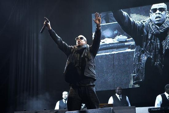 Jay-Z与Adele在英国音乐节见面 欲与之展开合作