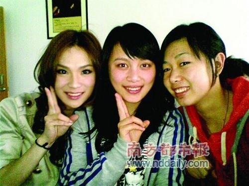 """""""伪娘""""刘著:说不定有一天我也是天后(图)"""