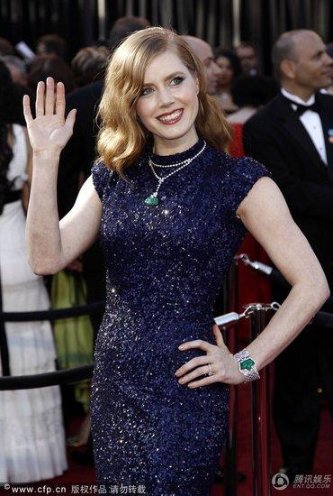 83届奥斯卡红毯十大最美女星 娜塔莉显母性之美