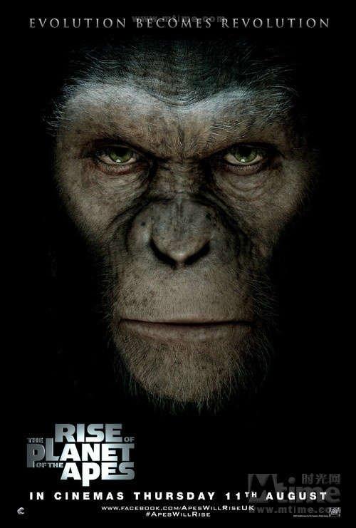 《猩球崛起》全球票房超四亿 崭新前传叫好叫座