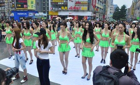 花儿选手穿比基尼炫舞 为青海卫视526开台预热