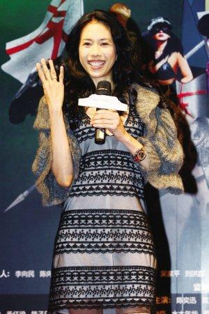 《东成西就2011》首映 莫文蔚:大家都去结婚吧