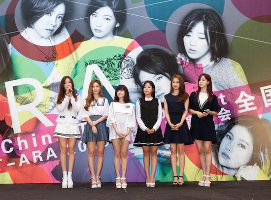 T-ara开启巡回演唱会