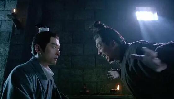《琅琊榜》中,胡歌与刘奕君在狱中的对手戏