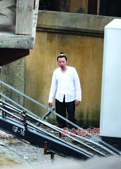 《赵氏孤儿》宁波热拍 男主角葛优造型首被曝光