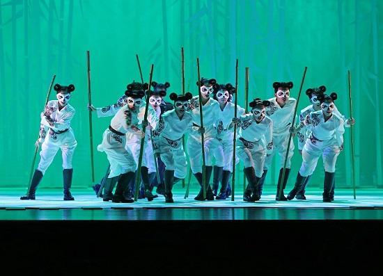 音乐剧《PANDA》首演 演绎不一样的熊猫世界