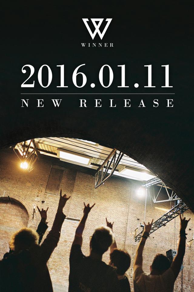 WINNER公布回归时间2016.1.11 或时隔1年5个月发新专辑