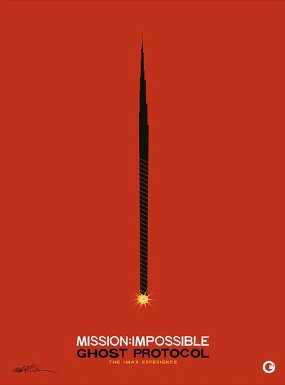 《碟中谍4》发布IMAX海报 被赞年度佳片之一