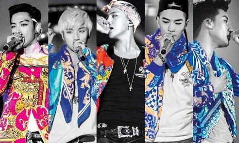 Bigbang舞台造型