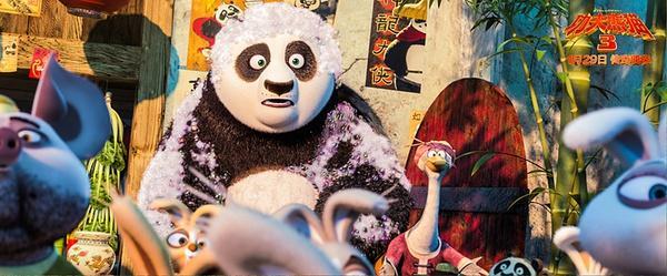 《功夫熊猫3》:15亿目标望夺回动画票房冠军
