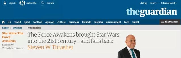 太疯狂,《星战7》首周票房创银河系最高纪录