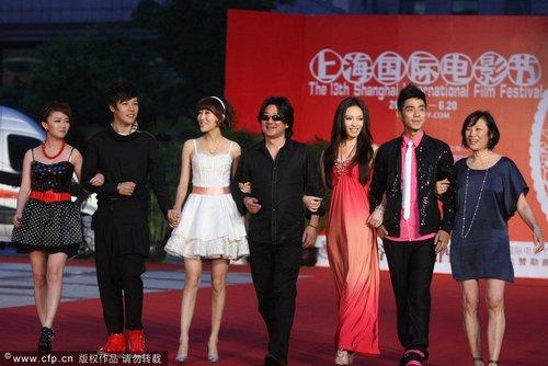第13届上海电影节闭幕 《歌舞青春》剧组现身