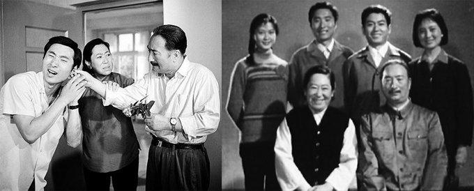 """1979年,陈强、陈佩斯父子联袂主演《瞧这一家子》,之后开创了著名的""""二子""""系列电影。"""