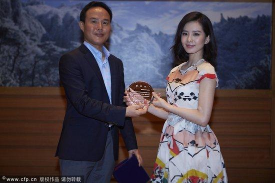 刘诗诗被韩国任命旅游宣传大使 期待吸引女粉丝