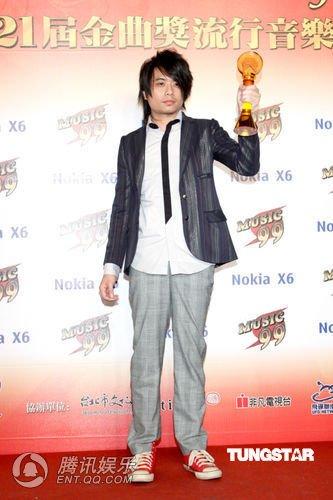 第21届台湾金曲奖 陈映之获最佳音乐录影带奖