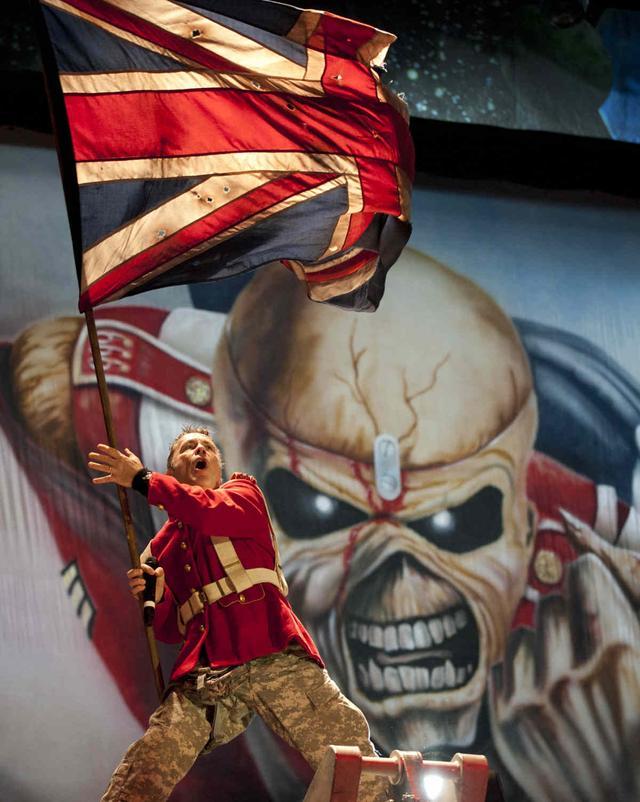 铁娘子Iron Maiden 世界巡演中国站火爆来袭
